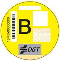 Etiqueta amarilla emisiones