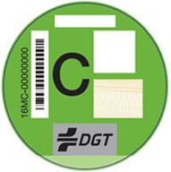 Etiqueta verde emisiones